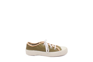 MILAN LOW CANVAS KAKI
