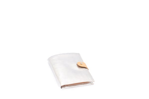WALLET METALLIC ARGENTO