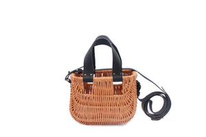 BASKET BAG DARK NAVY