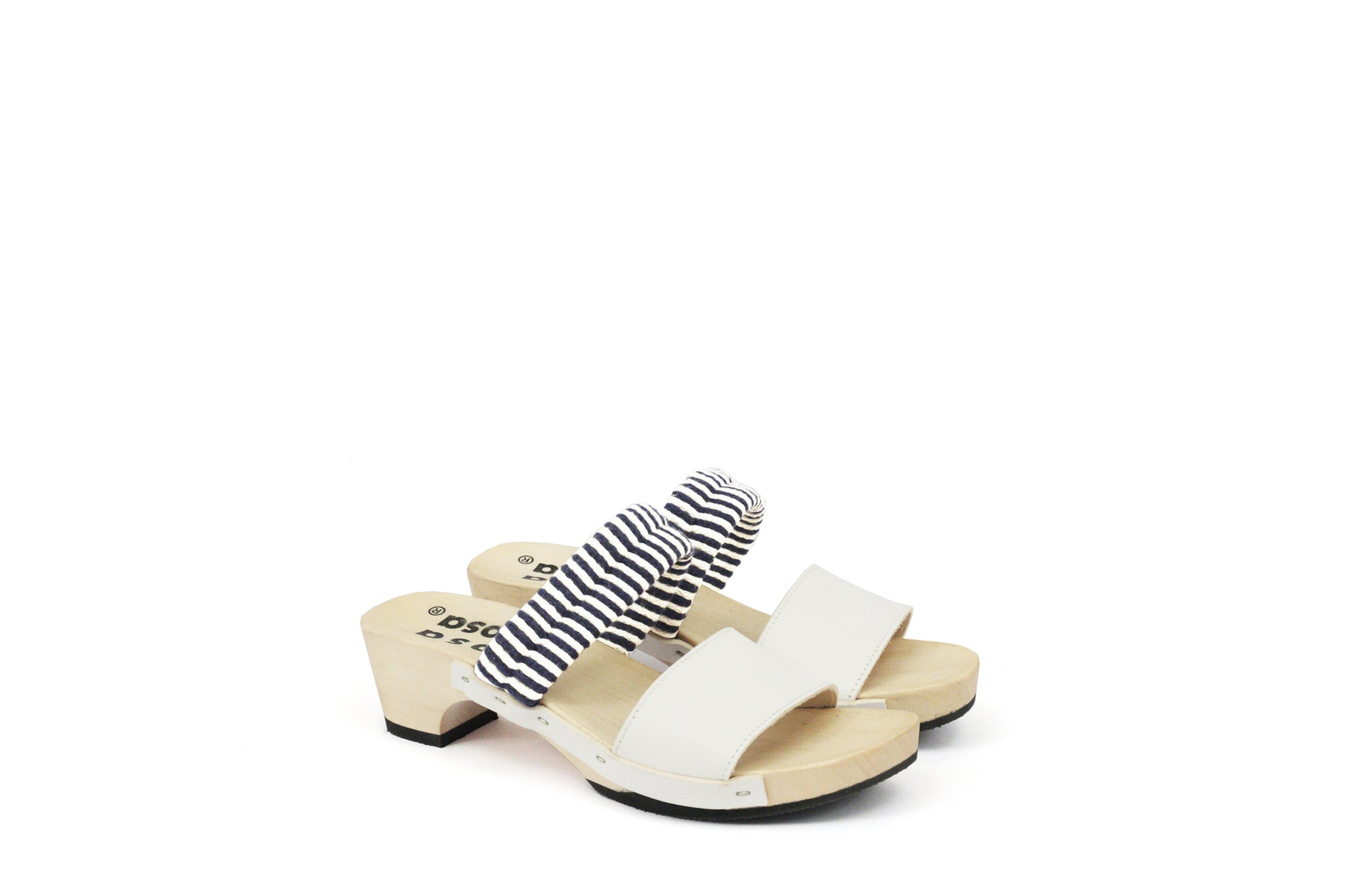 MAGO SANDALS NAVY/NATURAL BIANCO