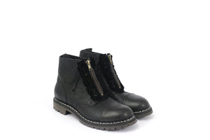 222 ZIP BOOT CURLY NERO