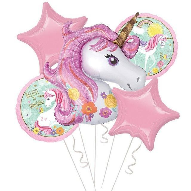 Unicorn Party Balloon Set