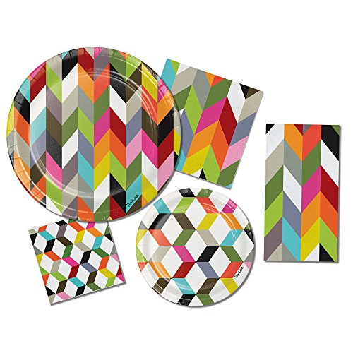 Chic Birthday Party Plates
