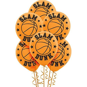 Slam Dunk Basketball Balloons