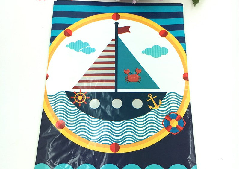 Sail Boat Birthday Party Supplies