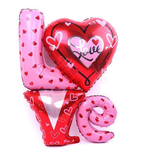 Valentines Love Letter Balloon