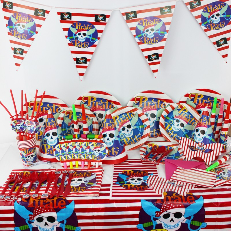 Pirate Birthday Party Supplies