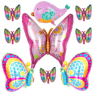Beautiful Pink Butterfly Balloons