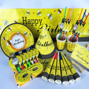 Bumble Bee Birthday Party Supplies