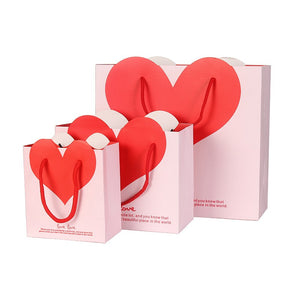 Valentines Heart Gift Bag