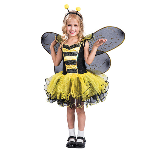 Yellow Bumble Bee Party Costume