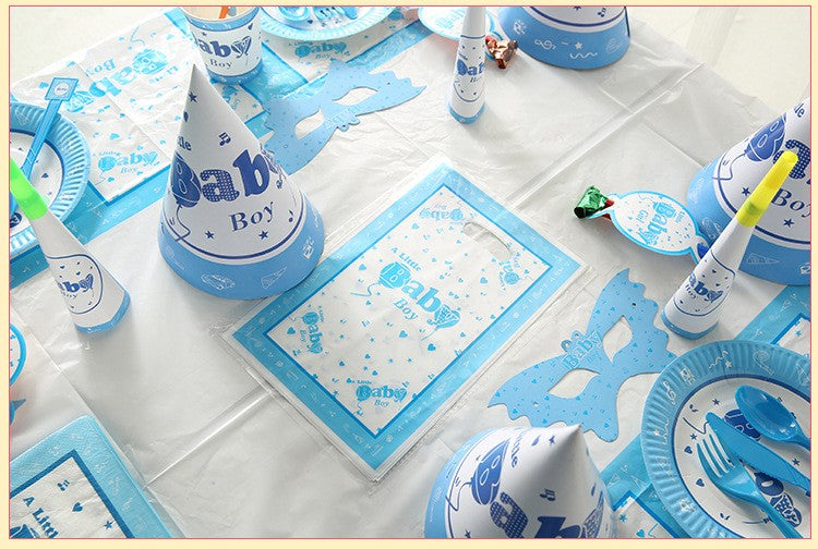 Baby Boy Party Supplies