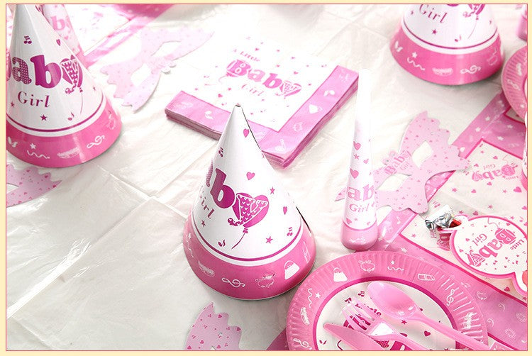 Baby Girl Party Supplies