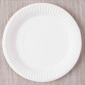 solid color paper plates