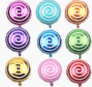 Swirly Lollipop Balloons