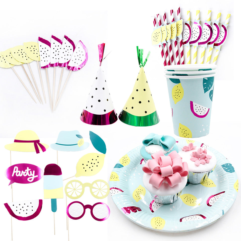Lemon & Berry Birthday Party Supplies