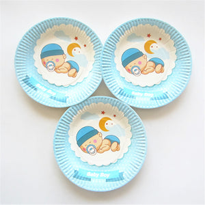 Paper Plates For Babies Birthday