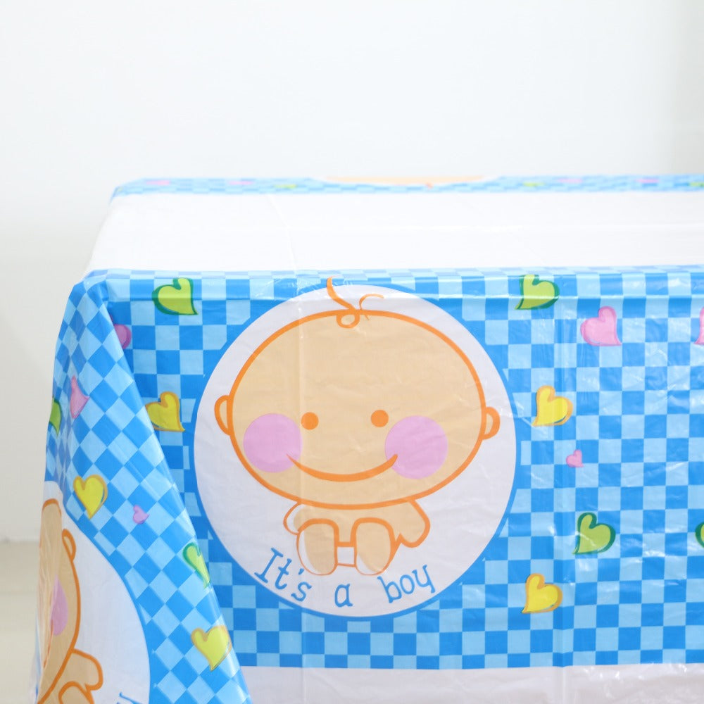 Baby Shower Table Cover