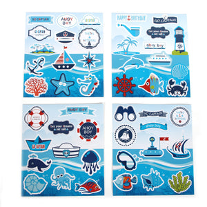 Sea Theme Birthday Decoration Set