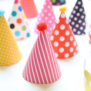 12 Paper Birthday Decorations Set