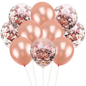 Rose Gold Balloon Bouquet