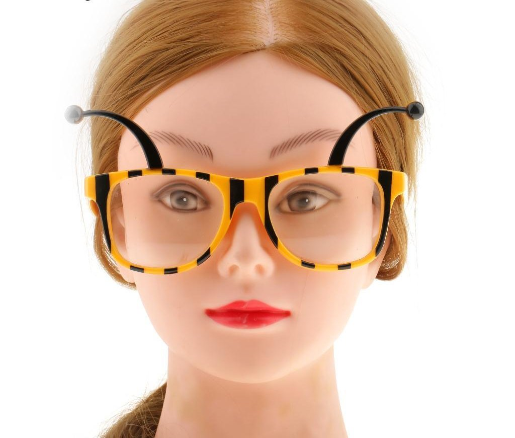 Bee Antenna Headband & Glasses