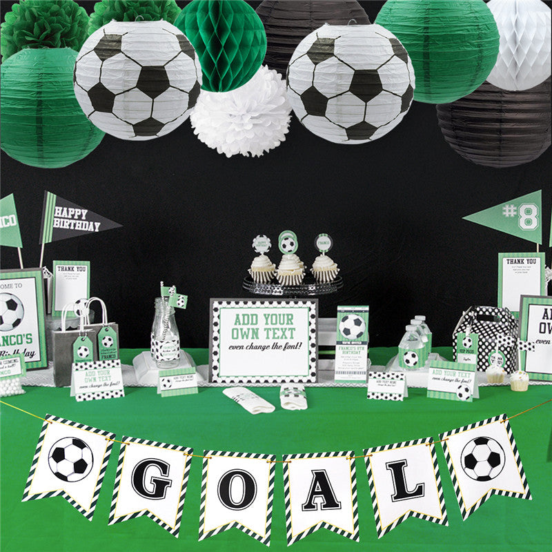 Soccer Theme Party Decoration