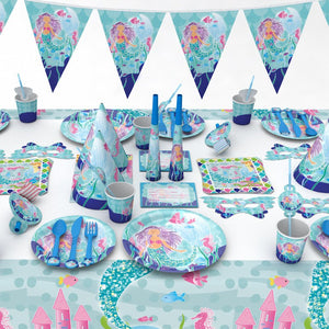 Mermaid Birthday Party Supplies