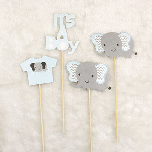 Elephant Baby Shower Cake Topper