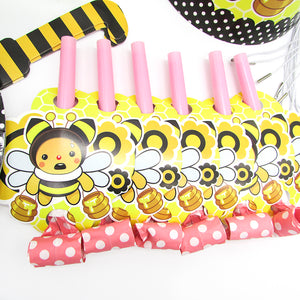 Baby Bear Bee Birthday Party Supplies