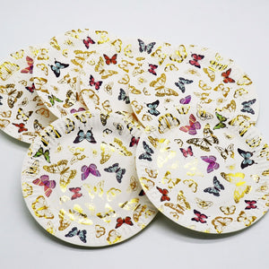 Butterfly Birthday Party Plates