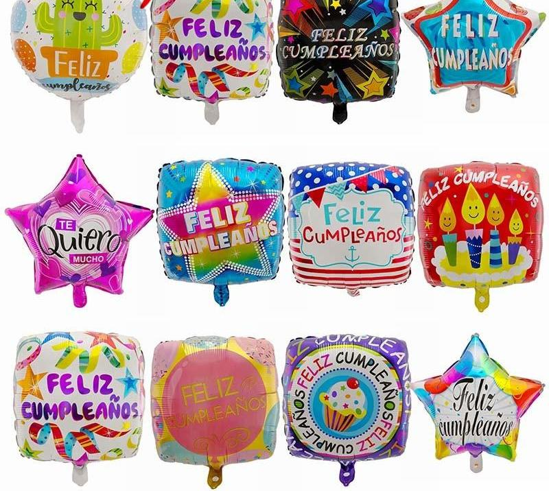 Feliz Cumpleanos Balloon Collection