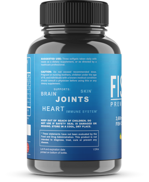 Omega 3 Fish Oil Triple Strength Capsules