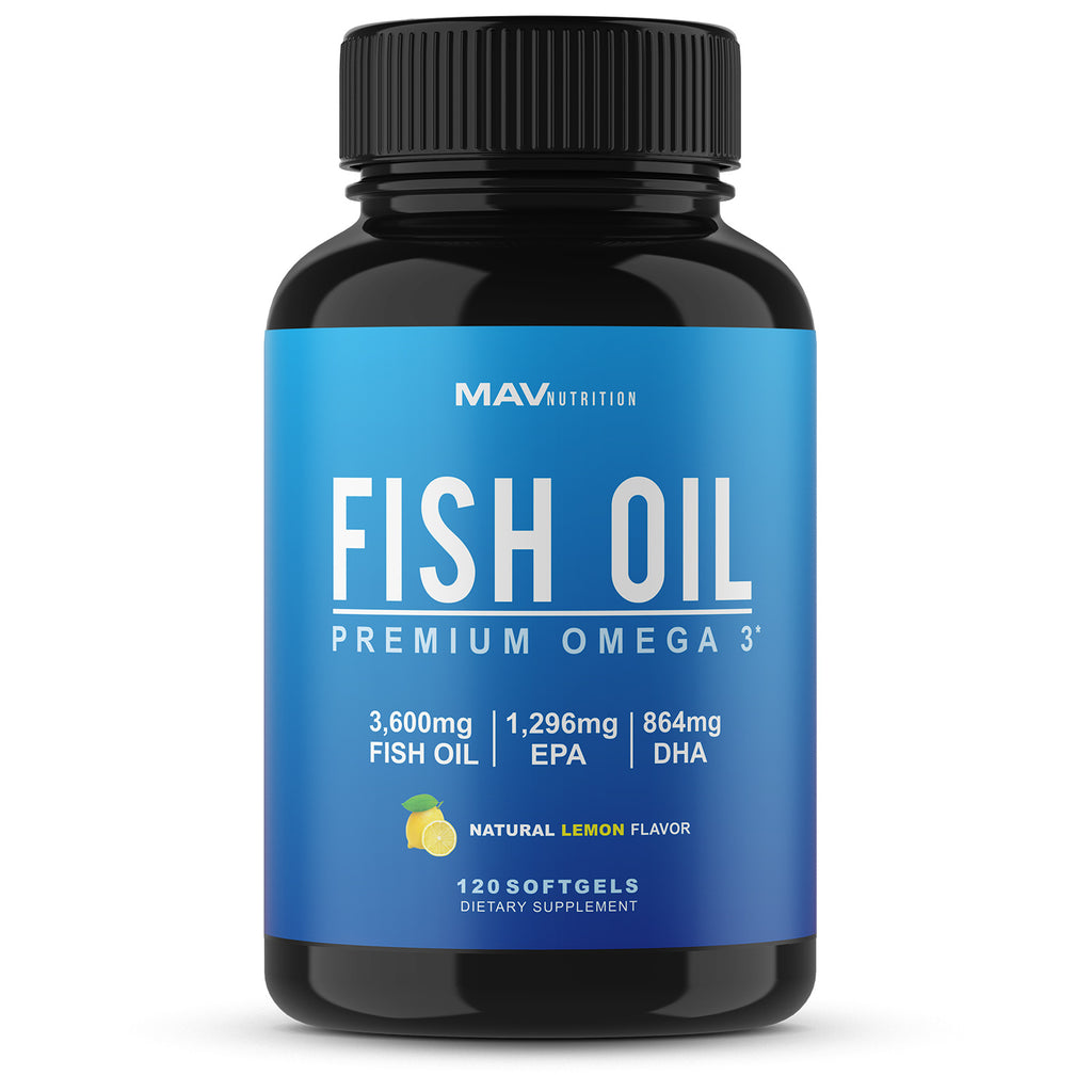 Fish Oil Triple Strength Capsules