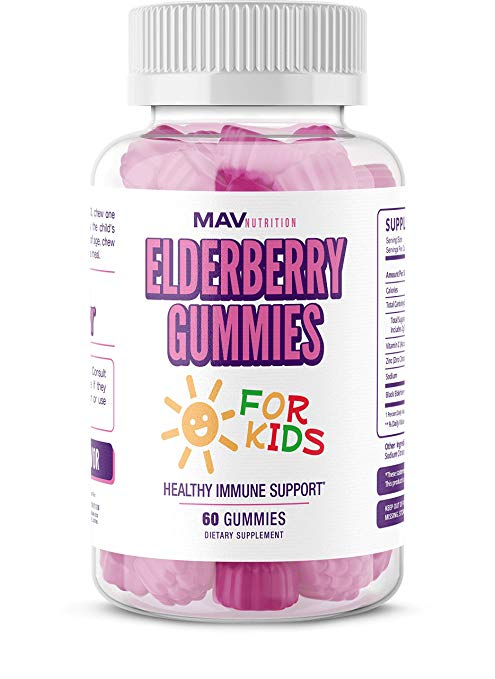 Kids Elderberry Gummies