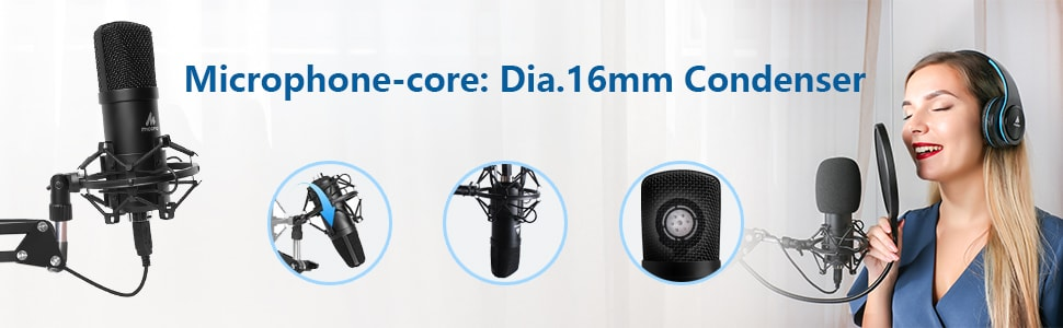 Best USB Microphone Kit MAONO AU-A04 Buy at Good Price Online.
