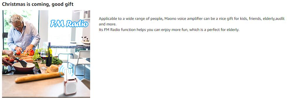 Voice Amplifire Maono C01 as PA System Online for Sale with Cheap Price.