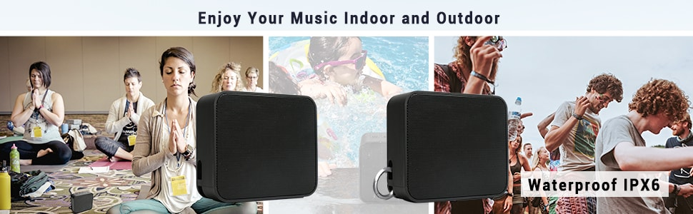 Waterproof Lightweight Wireless Speaker Maono AU-U3 for Outdoors Use.