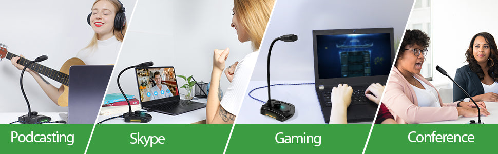 USB gaming microphone