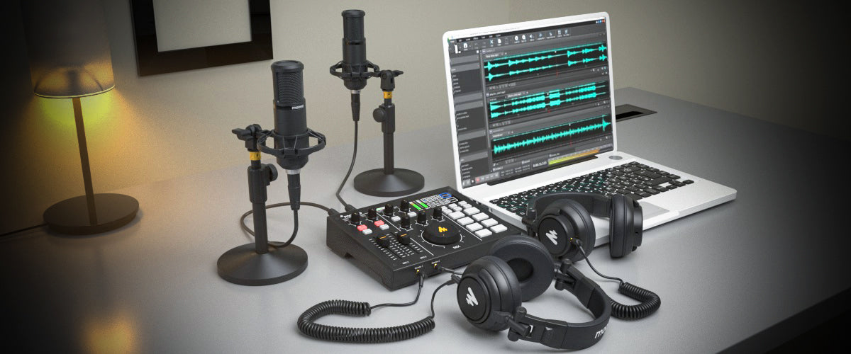 Portable All-In-One Podcast Production Studio