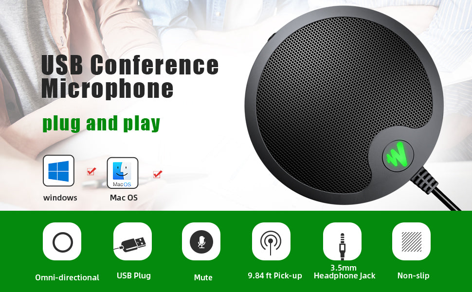 USB conference microphone