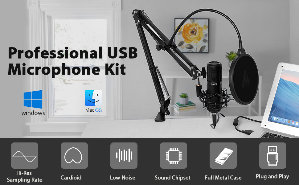 USB microphone kit