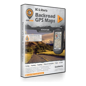 Backroad GPS Maps BC & Alberta Adventure