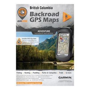 Backroad GPS Maps British Columbia Adventure