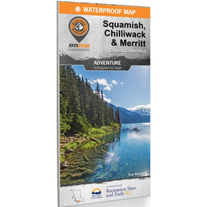 Backroad Mapbooks Adventure Topographic Map – Squamish, Chilliwack & Merritt