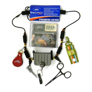 Wright & McGill Streamside Lanyard w/ Tools and DVD