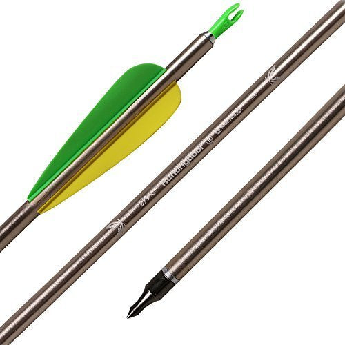 BlackMax 31″ Aluminum Arrow 3-Pack