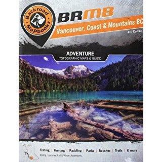 Backroad Mapbooks Adventure – Vancouver, Coast & Mountains BC