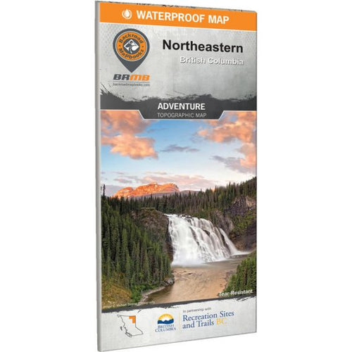 Backroad Mapbooks Adventure Topographic Map – Northeastern B.C.