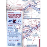 Fish-n-Map Co. Fraser River Map